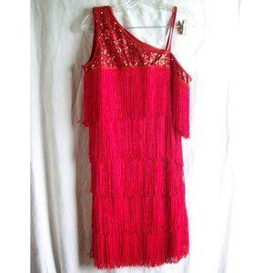 Balera Dancewear Flapper Dress/Costume - Adult L